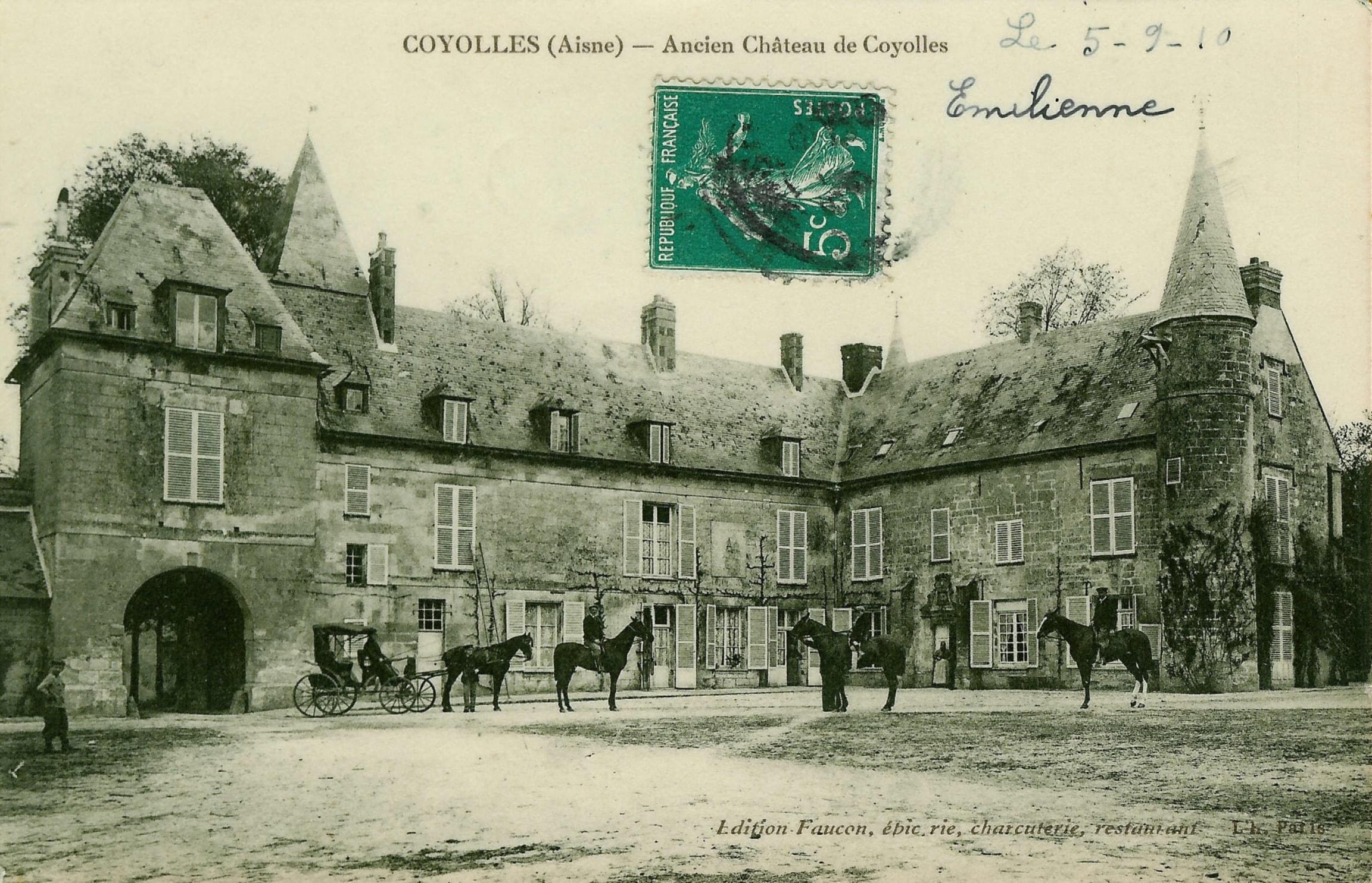 GreenGo - Le château de Coyolles 17